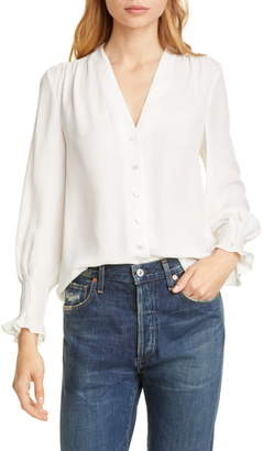 Rebecca Taylor Tailored by Silk Blouse