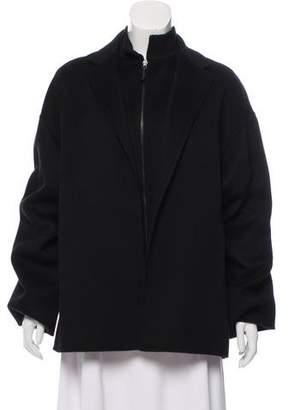 Dusan Dušan Camel Zip-Up Coat