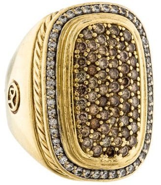 David Yurman Diamond Albion Ring $3,495 thestylecure.com