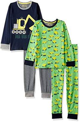 Mothercare Baby Boys 2 Pack Digger PJ Pyjama Sets,(Manufacturer Size: 110)