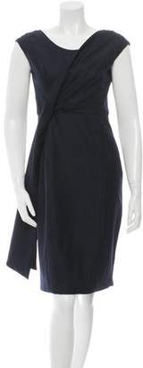 Lela Rose Wool & Silk-Blend Dress