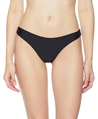 Ocean Blues Women's Cheeky Brazilian Cut Bikini Bottom Size