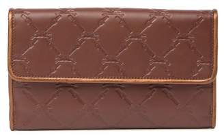 Longchamp Large Leather Continental Wallet
