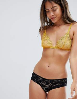 Free People Lace Briefs