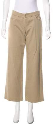 Eileen Fisher Mid-Rise Wide-Leg Pants
