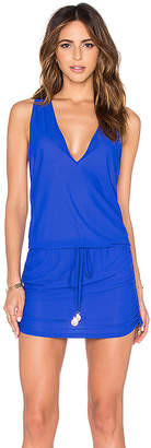 Luli Fama Cosita Buena T-Back Mini Dress