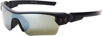 Under Armour 8600095 Black Menace Wrap Sunglasses
