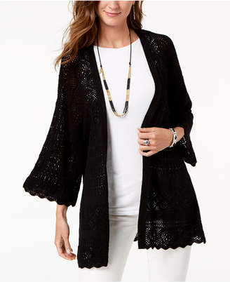 Style&Co. Style & Co Petite Kimono Cardigan, Created for Macy's