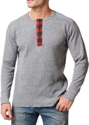 Stanfield's Heritage Plaid Waffle Henley
