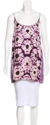 Ermanno Scervino Printed Sleeveless Top