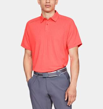 Under Armour Men's UA Threadborne Outer Glow Polo