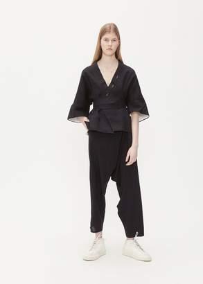 Bassike Kimono Sleeve Top