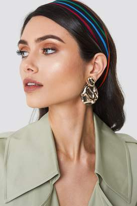 Na Kd Accessories Structured Drop Back Earring