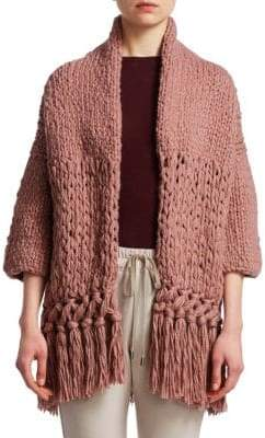 Gentry Portofino Chunky Knit Cardigan