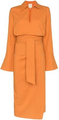 Margherita USISI wrap midi dress