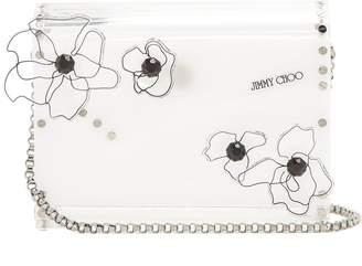 Jimmy Choo Candy transparent clutch bag