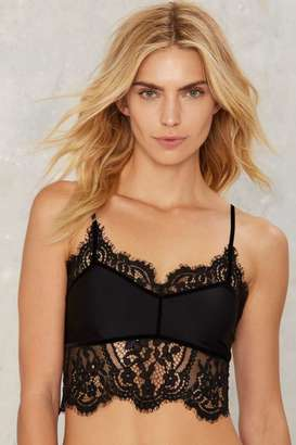 SKIVVIES by For Love & Lemons Emerie Lace Bralette $158 thestylecure.com