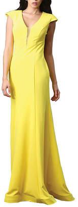 Asstd National Brand Simple Stretchy Open Back Dress