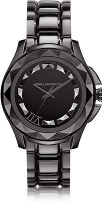 Karl Lagerfeld 7 43.5 mm Gunmetal IP Stainless Steel Unisex Watch
