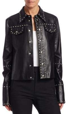 Helmut Lang Studded Leather Jacket