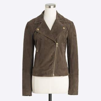 J.Crew Factory Suede motorcycle jacket