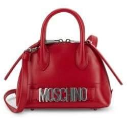 Moschino Chic Leather Satchel