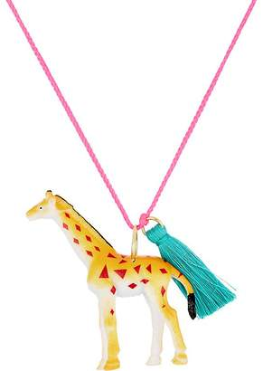 Little Lux Jim The Giraffe Charm Necklace