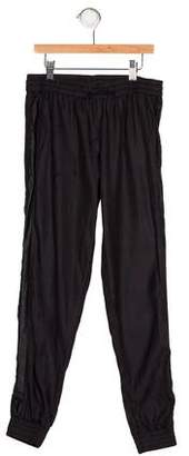 Vince Girls' Tuxedo Jogger Pants