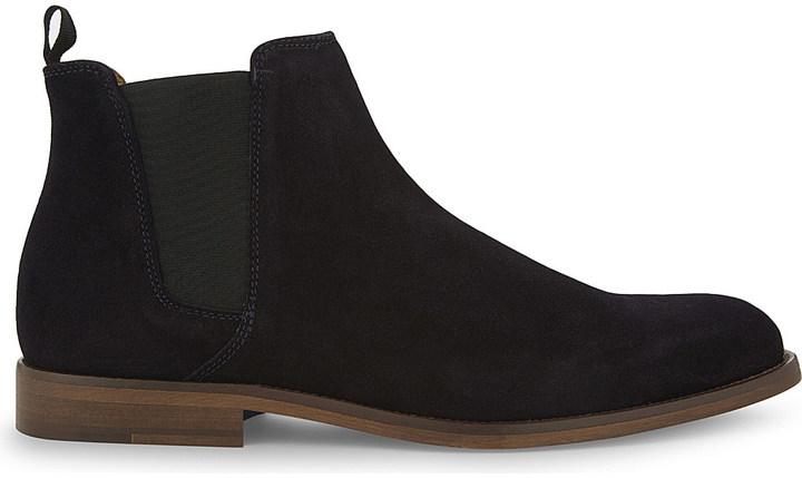 Aldo Aldo Vianello leather Chelsea boots