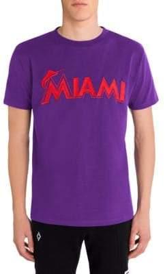 Marcelo Burlon County of Milan Miami Marlins Tee
