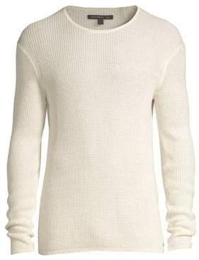 John Varvatos Thermal Crewneck Top