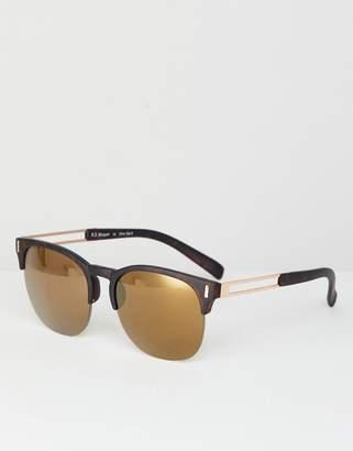A. J. Morgan AJ Morgan retro sunglasses