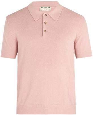 ÉDITIONS M.R Jude terry towelling polo top