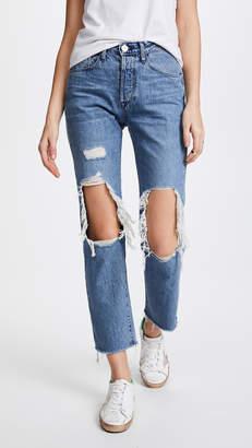 3x1 W3 Higher Ground BF Crop Jeans