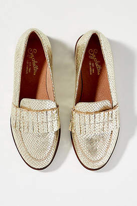 b96fe81c20e at Anthropologie · Seychelles Powerful Ruffle-Front Loafers