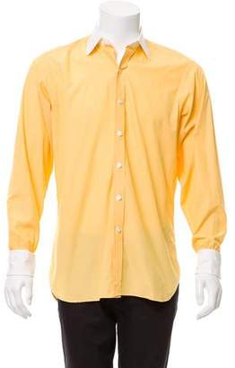 Turnbull & Asser French Cuff Button-Up Shirt