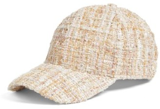 Women's Bp. Tweed Baseball Cap - Pink $25 thestylecure.com