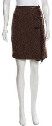 Ralph Lauren Wool Knee-Length Skirt Brown Wool Knee-Length Skirt