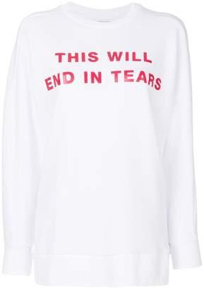 Zoe Karssen printed sweatshirt