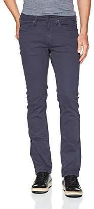 Buffalo David Bitton Men's Ash-x Slim Leg Stretch Non-Denim Fashion Pant