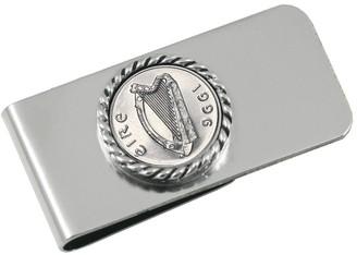 American Coin Treasures Irish Five-Pence Money Clip