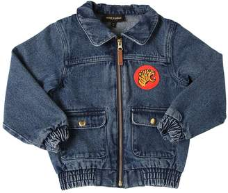 Mini Rodini Washed Organic Cotton Denim Jacket