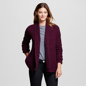 Women's Textured Open Layering Cardigan - Merona $29.99 thestylecure.com