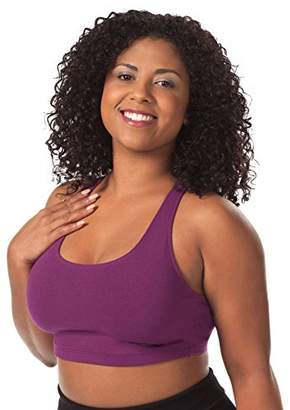 Leading Lady Women's Plus-Size Light Impact Sports Bra