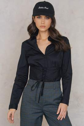 Rut & Circle Rut&Circle Milly Waist Shirt