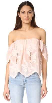 Lovers + Friends Lifes a Beach Top $138 thestylecure.com