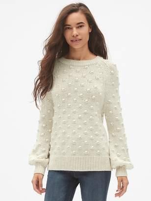 Gap Bobble Stitch Crewneck Pullover Sweater