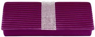 Vangoddy Palki Women's Elegant Clutch Wallet Purse (with Attachable Chain Shoulder Strap)