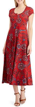 Chaps Jesse Short-Sleeve Casual Dress