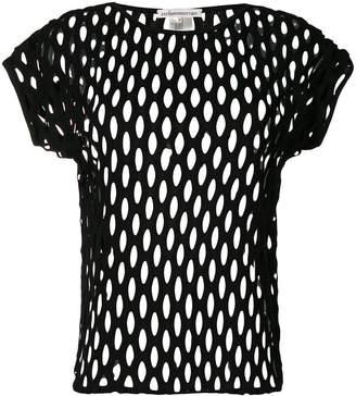 Stefano Mortari perforated T-shirt